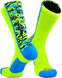TCK Sports Elite Performance Digital Camo Crew Socks