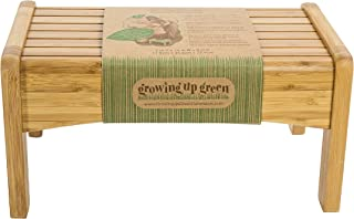 Growing Up Green Bamboo Step Stool