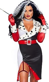 Leg Avenue Women's 3 Pc Devilish Diva Costume