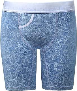 Light Blue Paisley Boxer Packing Underwear FTM Transgender