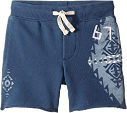 French Terry Graphic Shorts (Toddler)