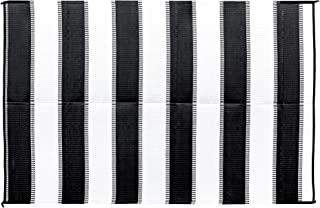 Camco Charcoal Stripe 42873 Awning Leisure Mat 6' X 9'
