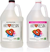 ArtResin Epoxy Resin - Clear - No Respirator Needed - 2 gal (7.57 L)