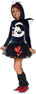 Rubie's Looney Tunes Pepe Le Pew Girls Hooded Costume, Small