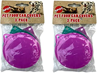 Ethical Products Dog Cat Food Can Cover, 3.5-Inches, 6 Covers