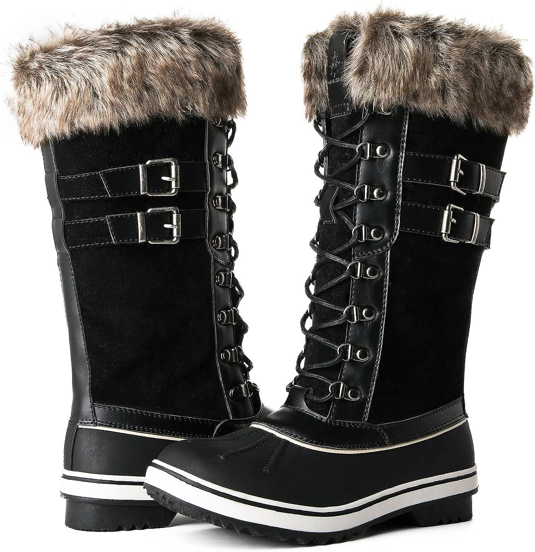 GLOBALWIN Women's 1730 Winter Snow Boots