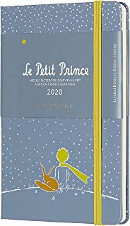 Moleskine Limited Edition Petit Prince 12 Month 2020 Weekly Planner, Hard Cover, Pocket (3.5