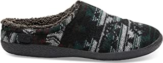 Men's Berkeley Slipper Forest Tribal Wool