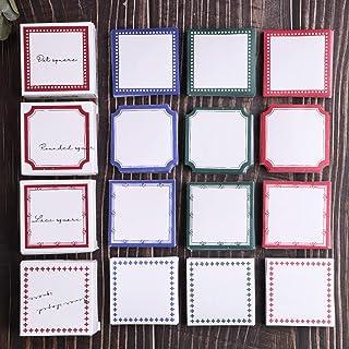 Autocollants de scrapbooking, autocollants en papier de décoration Lychii 600 pièces, autocollants carrés adhésifs pour al...