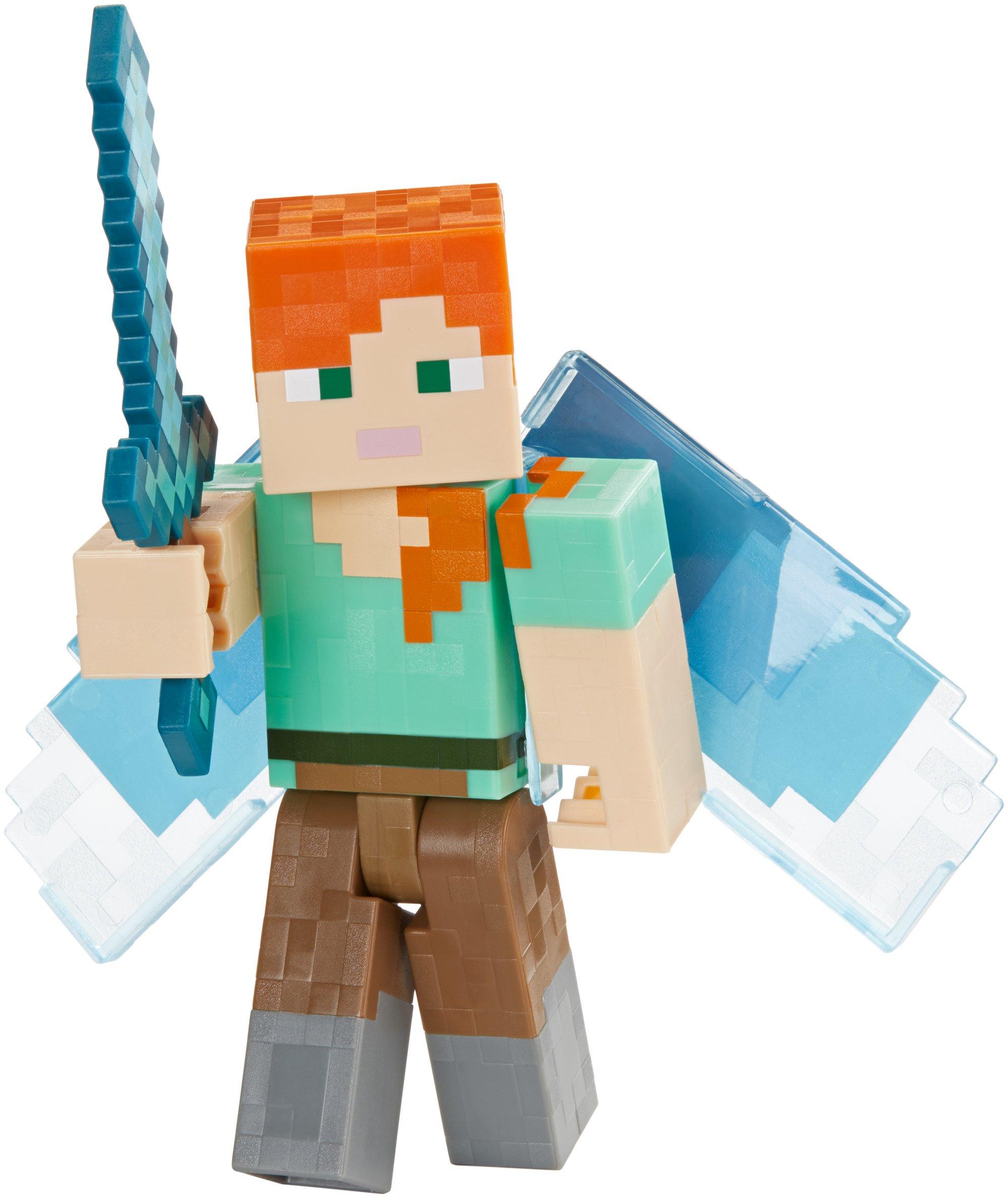 Minecraft FJD17 Alex with Elytra Figur: Amazon.es: Juguetes y juegos