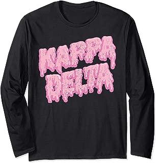 Kappa Delta Pledge Rush Alumnae Sorority Vintage Long Sleeve T-Shirt