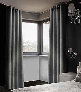 Safdie & Co. 51356.2Z.02 Curtain Panel Blackout Linen Look 84L Taupe 2 Pcs Set Curtain Panel Blackout Linen Look-Parent Cu...
