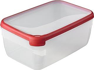CURVER Boîte Grand Chef - Alimentaire Transparente Rectangulaire Plastique - Grande Capacité 5,4L - Boîte Conservation Tou...