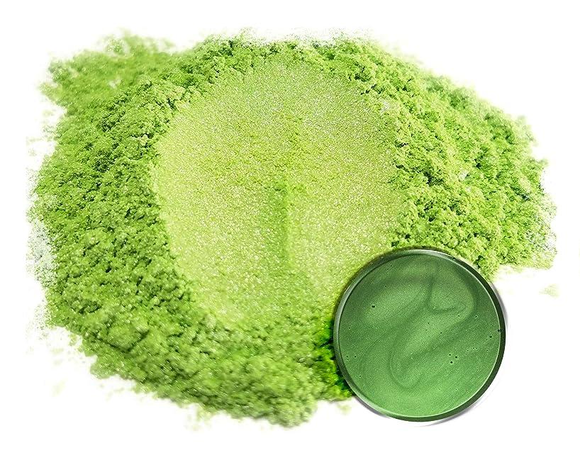 "Eye Candy Mica Powder Pigment ""Green Tea"" (50g) Multipurpose DIY Arts and Crafts Additive | Natural Bath Bombs, Resin, Paint, Epoxy, Soap, Nail Polish, Lip Balm"