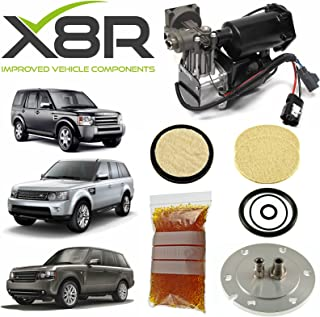 LAND ROVER RANGE ROVER L322 2006-2009 / RANGE ROVER SPORT / LR4 / DISCOVERY 4 / LR3 / DISCOVERY 3 AIR SUSPENSION COMPRESSOR REPAIR KIT X8R40