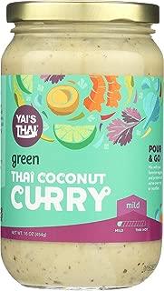 Yai's Thai Green Coconut Curry Sauce 16 Ounce