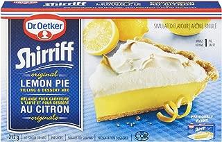 Dr. Oetker Shirriff Original Lemon Pie Filling & Desert Mix - 212g
