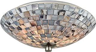Elk Lighting 10401/2 Close-to-Ceiling-Light-fixtures, Gray