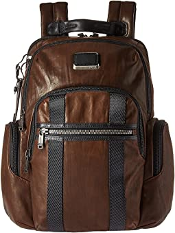 Tumi Alpha Bravo Nellis Leather Backpack