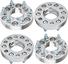 ECCPP 6x114.3 Wheel Spacers Hubcentric 1 inch 6 lug Wheel Spacer 6x4.5 to 6x4.5 66.1mm fits for 2005-2014 Nissan Frontier Nissan Pathfinder Nissan Xterra with 12x1.25 Studs