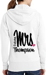 personalised future mrs hoodie