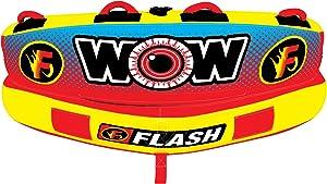 WOW Sports Flash Cockpit Towable Tube