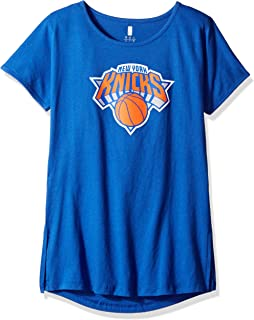 """NBA by Outerstuff NBA Youth Girls """"Primary Logo"""" Short Sleeve Dolman Tee"""