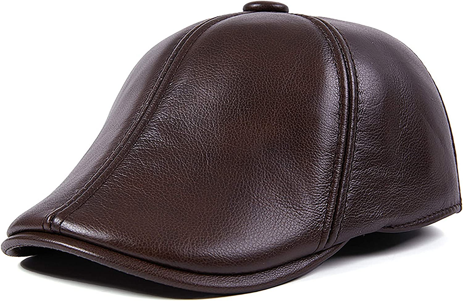 LXFMZ Men's Berets Traditional Manufacturer direct delivery Flat Product Leather Top Hat Caps Beret