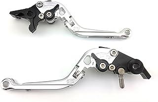 Par de Palancas ajustables y plegables, aluminio anodizado para Triumph Rocket III 2004–2007/Rocket III Classic 2007–2010/Rocket III Roadster 2010–2015