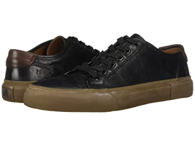 Frye Ludlow Cap Lowlace (Black Goat Pull Up) Men