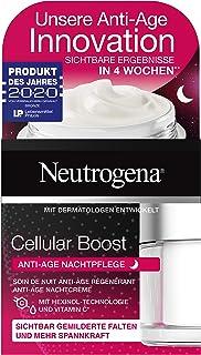 Neutrogena Cellular Boost ansiktsvård, anti-age nattkräm, med vitamin C, även för känslig hud, 50 ml