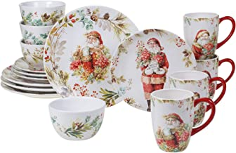 Certified International Christmas Story 16pc Dinnerware Set, Service for 4, Multicolored