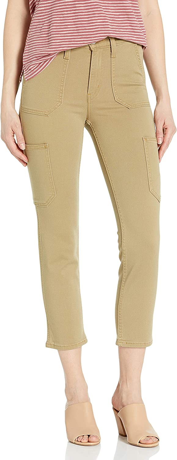 Bargain Levi's Women's Selling and selling 724 Utility Crop Straight Jeans