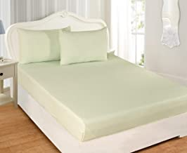 100% COTTON KRP HOME Ultra-Soft Cotton Breathable - Easy to Wash (50x75cms) 144 Thread Count set of 2 Home Essential Pillo...