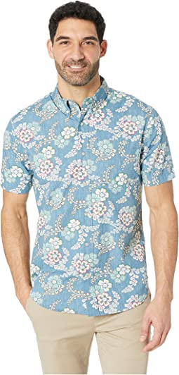 Furoshiki Floral Tailored Aloha Shirt