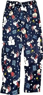 Christmas Peanuts Snoopy Fleece Sleep Lounge Pants