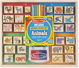 Best melissa & doug deluxe wooden stamp set animals Reviews