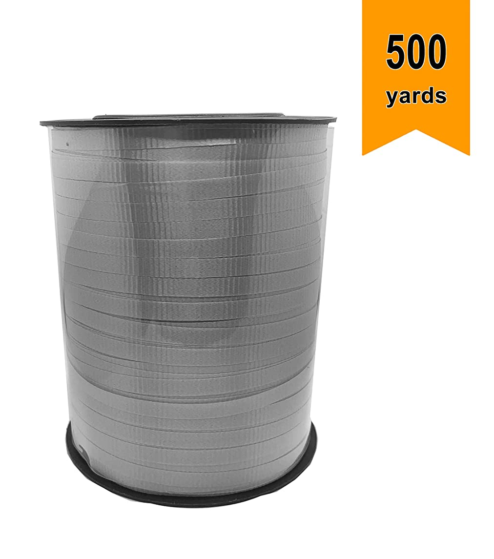 Silver/Grey Curling Ribbon 500 Yards