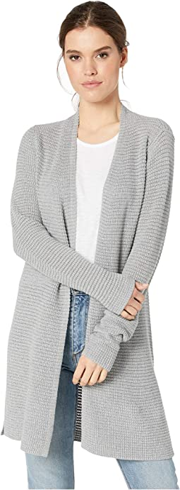 3caa2a347e Shae Cotton Knit Long Sleeve Cardigan Sweater