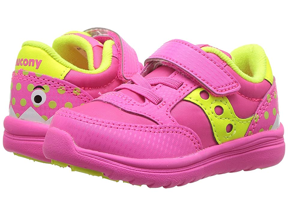 Saucony Kids Originals Jazz Lite (Toddler/Little Kid) (Pink Monster) Girls Shoes