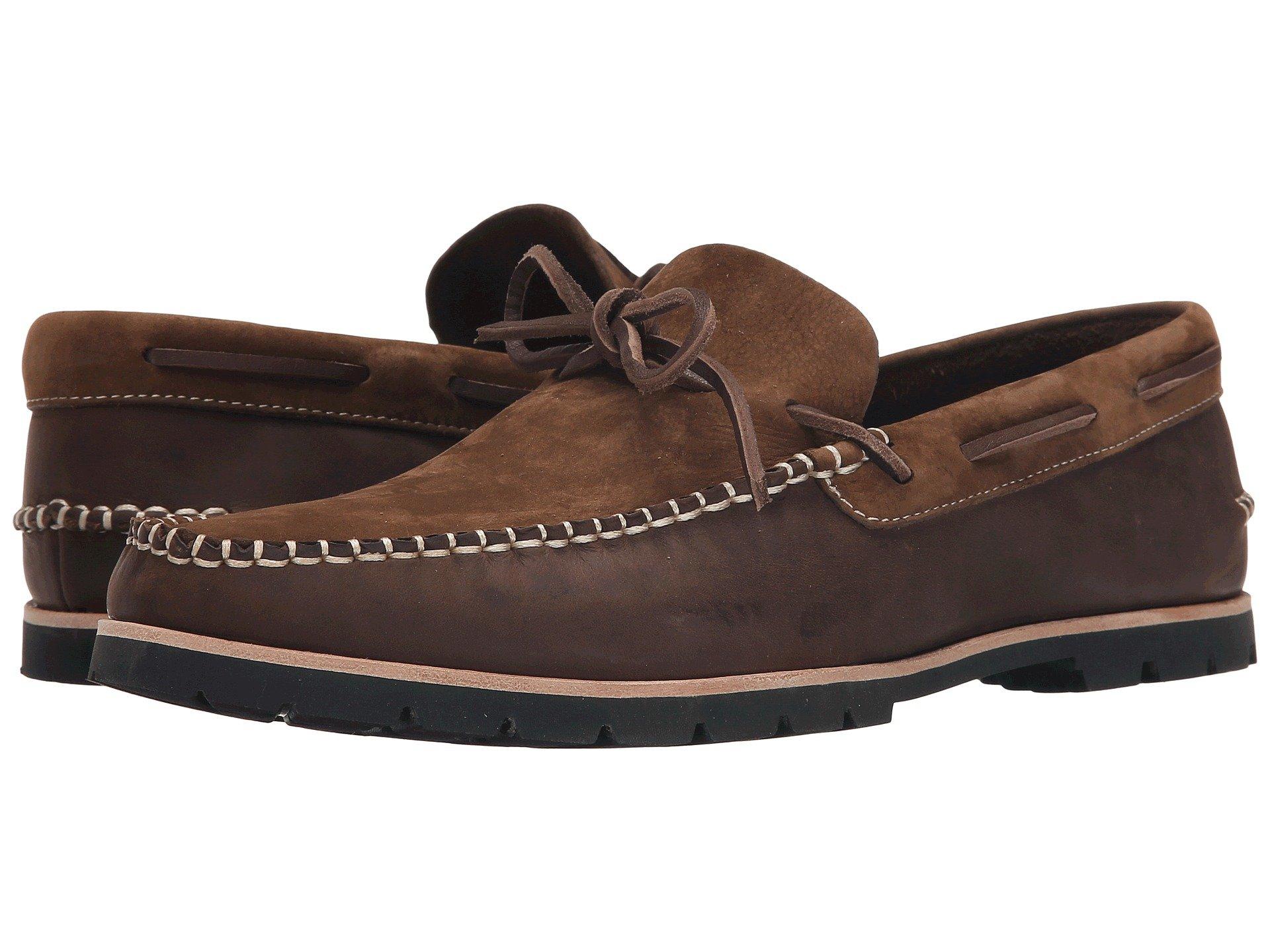 Calzado Tipo Boat Shoe para Hombre Woolrich Lake House  + Woolrich en VeoyCompro.net
