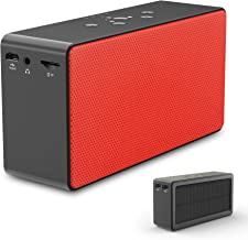 Solar Bluetooth Speaker/Power Bank, ZeroLemon SolarSound 72-Hour Playtime Solar-Powered 10W Portable Wireless Bluetooth 4.0 Speaker & Power Bank for Smartphone-Charging, Aux Audio/TF Card Supported