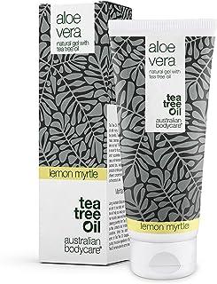 Aloe Vera gel från Australian Bodycare 200 ml | Tea Tree Oil + Lemon Myrtle | Klådstillande och svalkande gel för irritera...