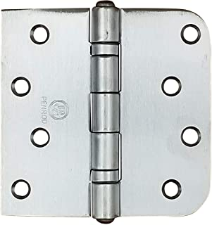 Best Penrod Stainless Steel Ball Bearing Door Hinges, 4 Inch with 5/8 Inch Square Corners, NRP, 3 Pack Review