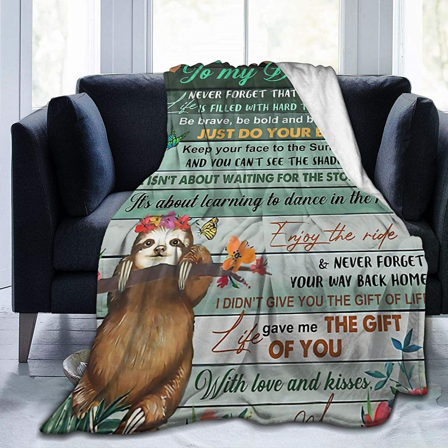 Max 47% OFF At the price of surprise CHIFHOME Throw Blankets to My Daughter Blanket Couch for Sloth