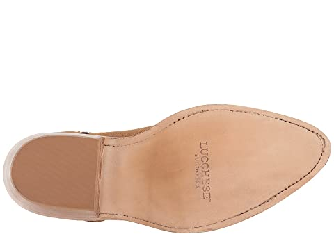Selle Lucchese Antique Isabel Cuir Suedeolive Leatherbutterscotch rIH1r