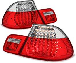 Halogen Tail Light For 2001-03 BMW 330Ci Coupe To 3-03 Right Outer Clr//Red Lens