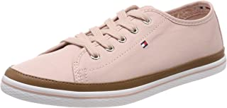 TOMMY HILFIGER Women's Iconic Pure Cotton Trainers Iconic Pure Cotton Trainers