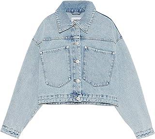 e51244f1a Amazon.fr : veste femme zara - Bleu / Femme : Vêtements