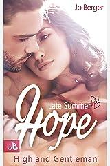 Late Summer Hope: Highland Gentleman Kindle Ausgabe
